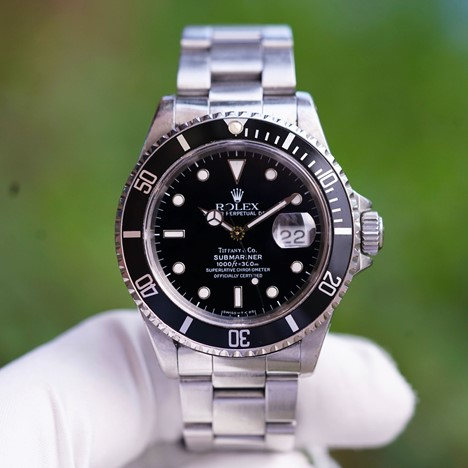 Vintage Rolex Submariner Date Tiffany & Co.
