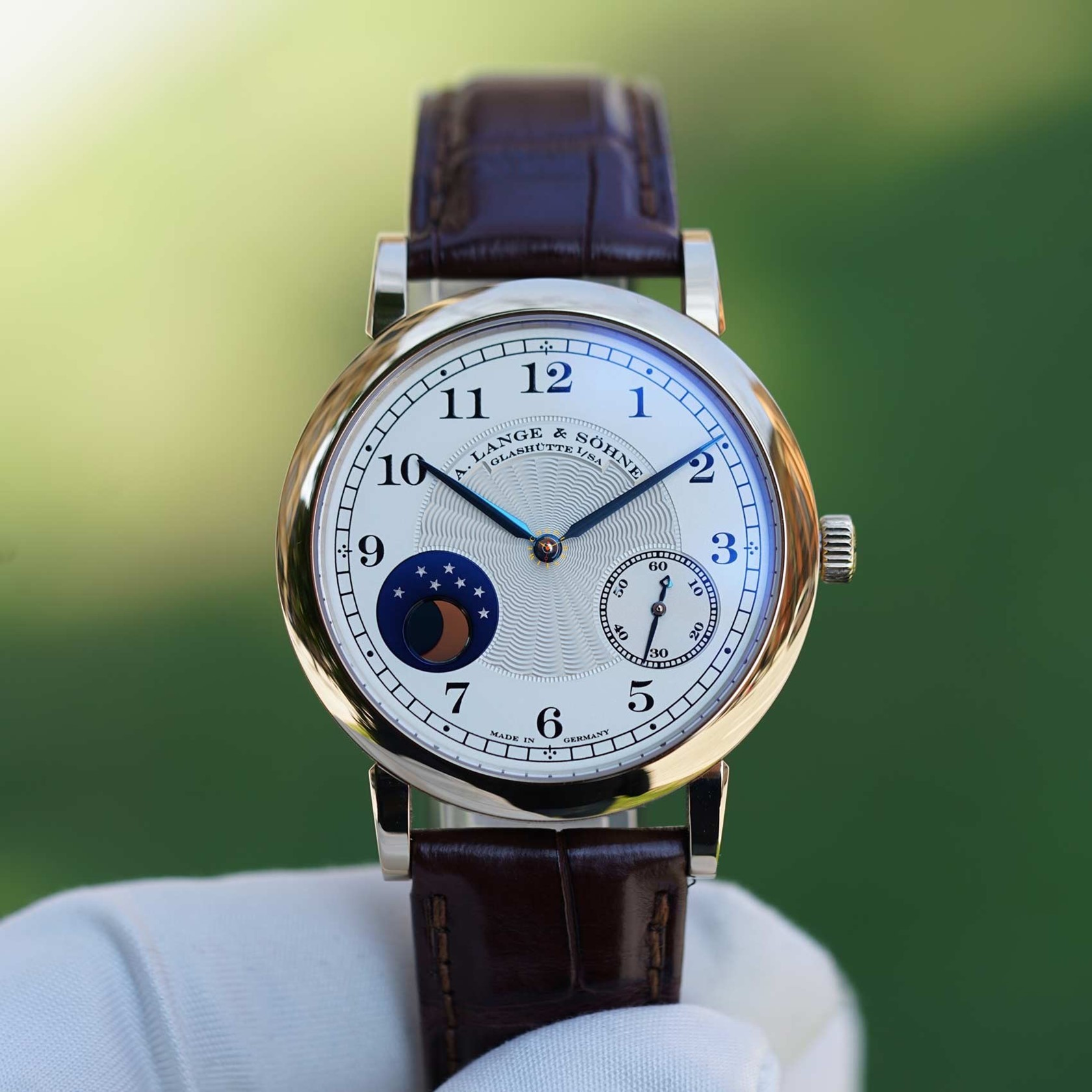 A LANGE & SÖHNE 1815 Moonphase HOMAGE TO F.A.LANGE