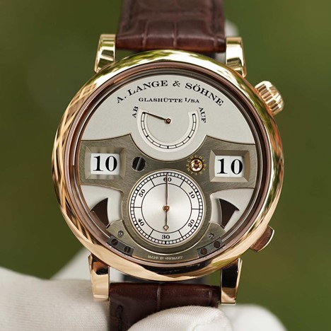 A. Lange & Söhne Zeitwerk Striking Time Roségold 145.032