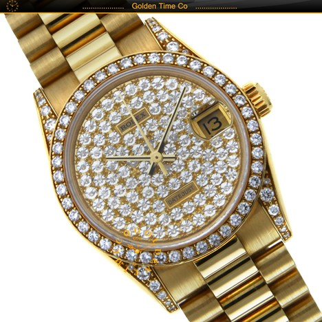Rolex DateJust Yellow Gold 34mm