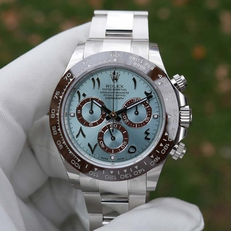 ROLEX DAYTONA COSMOGRAPH PALTINUM ARABIC HINDI 116506