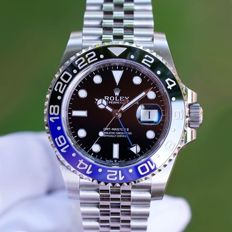 Rolex GMT Master II Steel 126710BLNR Batman
