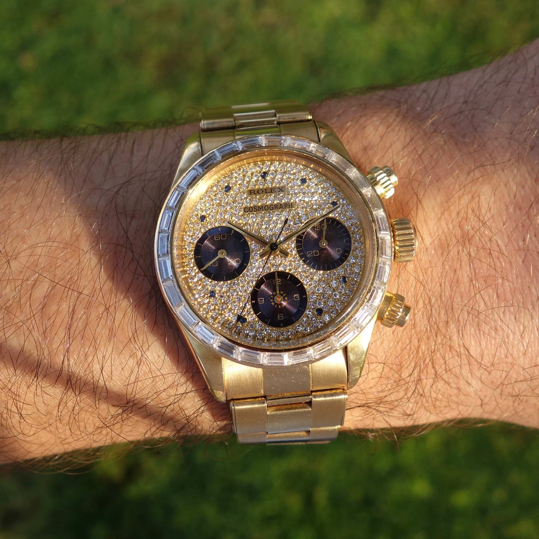 The first luxury Daytona ever produced! Rolex Daytona 6269