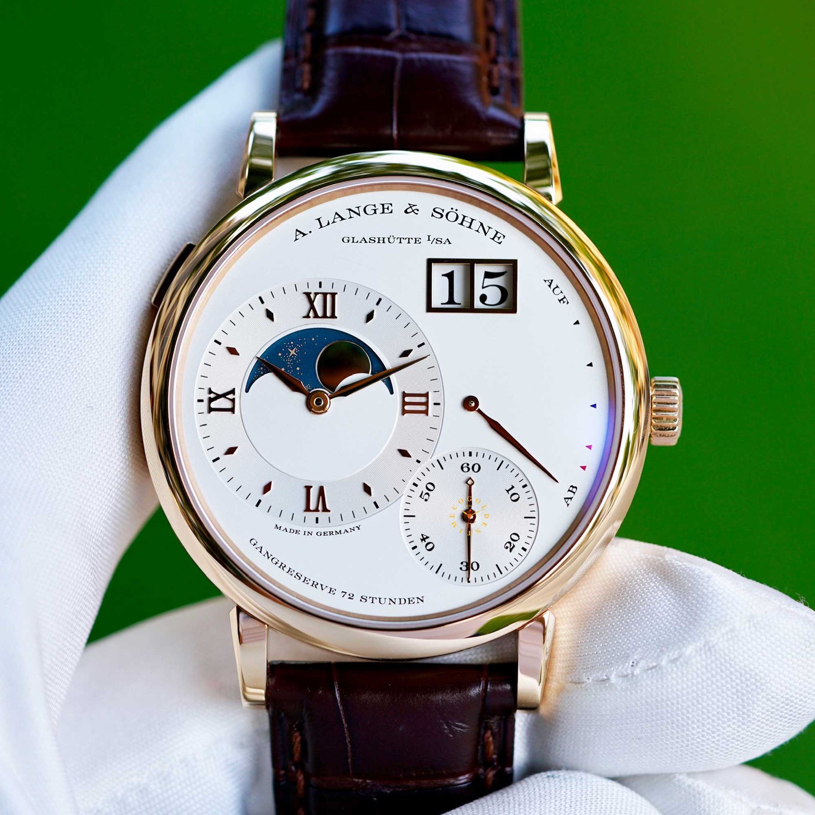 A LANGE & SÖHNE Grand Lange 1 Moonphase