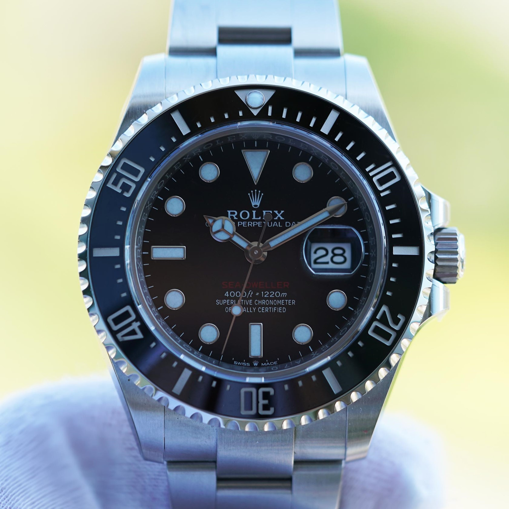 Rolex Sea-Dweller single Red 126600