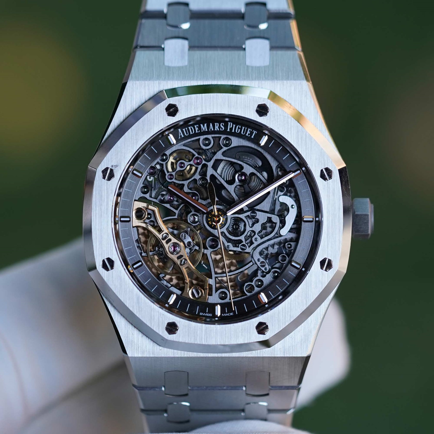 Audemars Piguet Royal Oak Double Balance Wheel Open-worked 15407ST.OO.1220ST.01