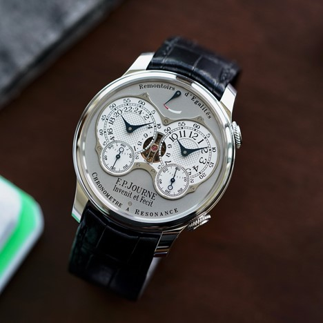 F. P  Journe chronometer Resonance